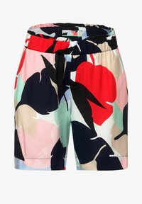 Street One - LOOSE FIT SHORTS MIT PRINT - Shorts - rot - 3