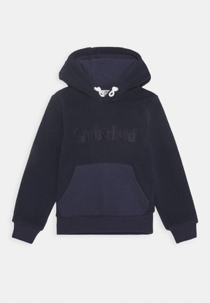 HOODED TEDDY - Sweat à capuche - navy