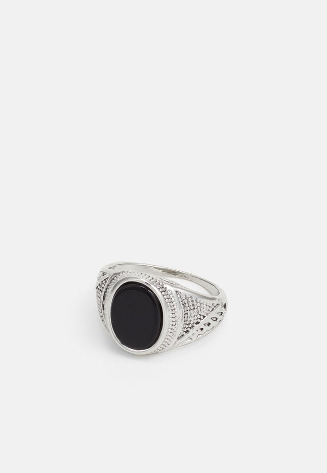 Ring - silver-coloured/black