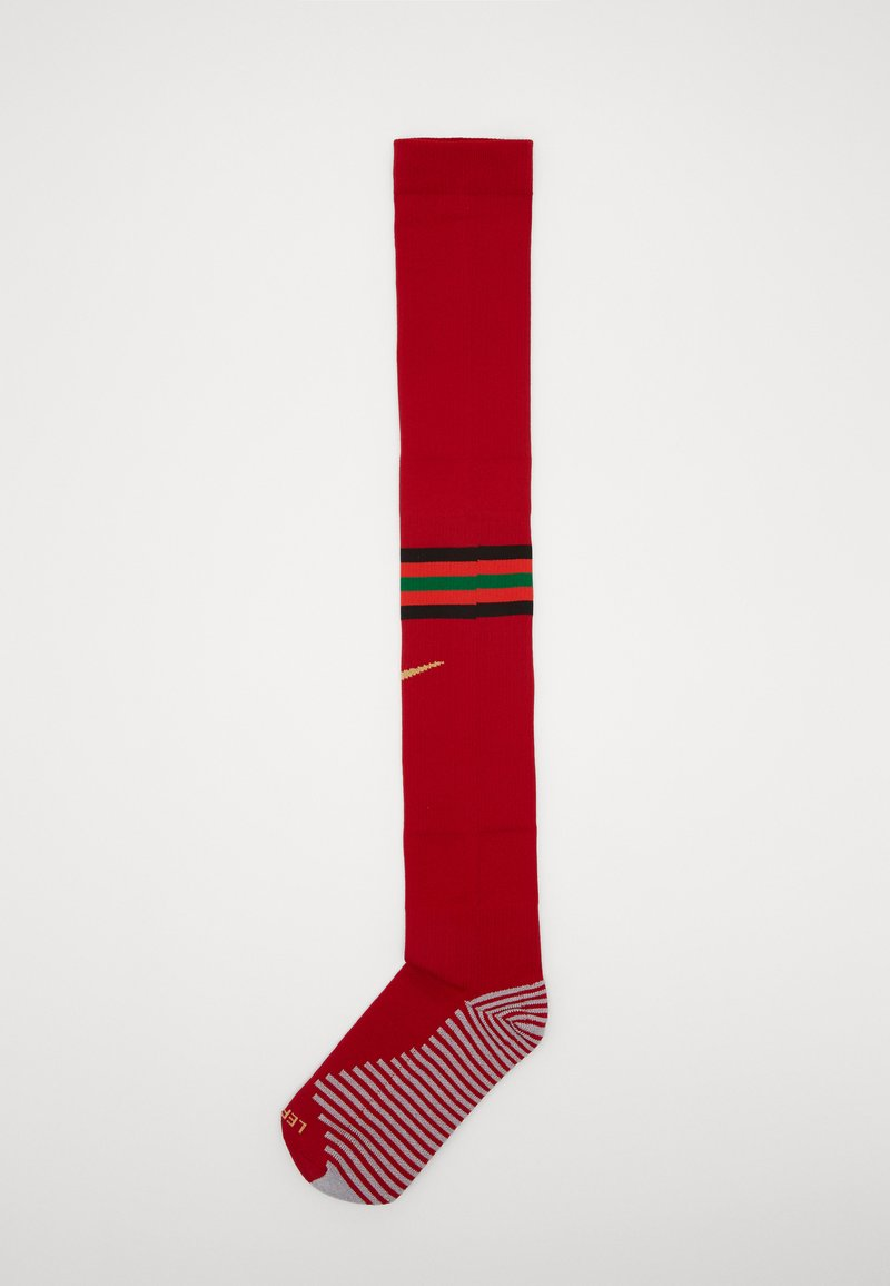 Nike Performance - PORTUGAL - Sports socks - gym red/challenge red/pine green/truly gold