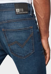 TOM TAILOR DENIM - Slim fit jeans - dark blue denim - 5