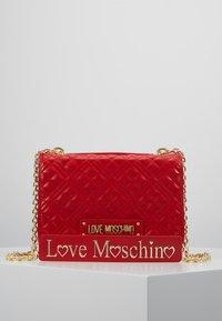 Love Moschino - Umhängetasche - red - 0