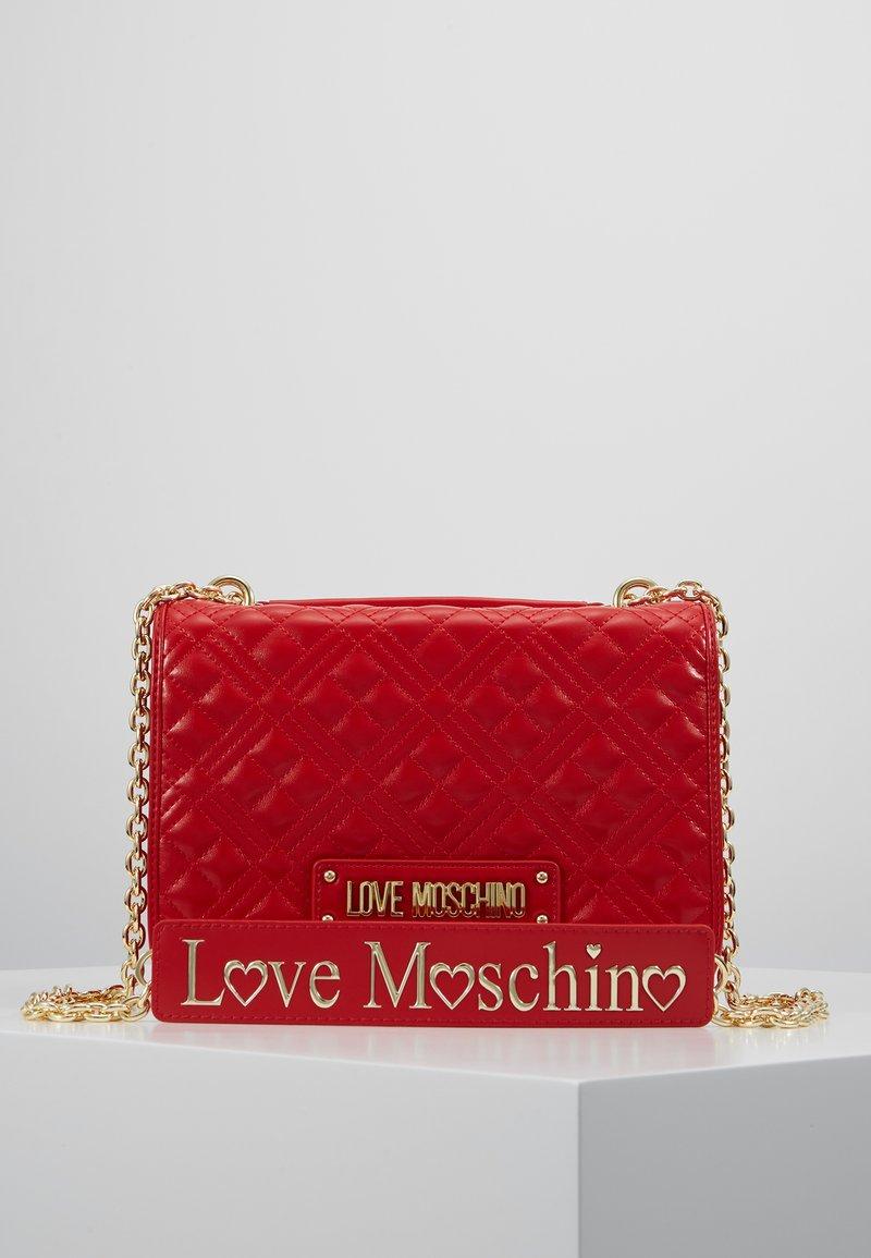 Love Moschino - Umhängetasche - red