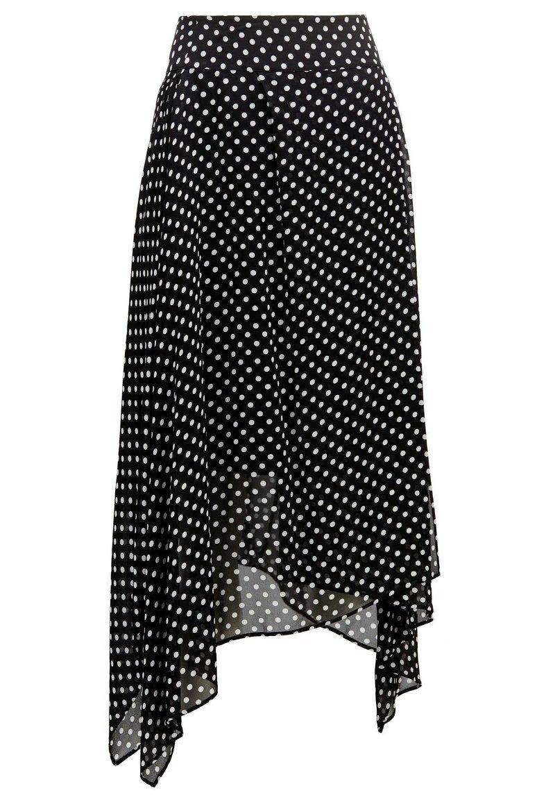 BOSS - A-line skirt - black
