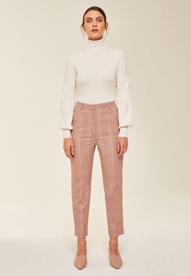 Pantalon classique - blush