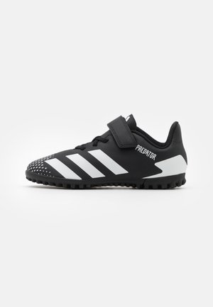PREDATOR 20.4 FOOTBALL TURF UNISEX - Astro turf trainers - core black/footwear white
