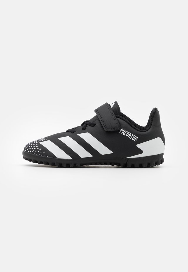 PREDATOR 20.4 FOOTBALL TURF UNISEX - Fußballschuh Multinocken - core black/footwear white