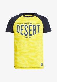 WE Fashion - T-shirt con stampa - yellow - 3