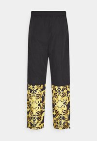 Versace Jeans Couture - CRINKLE  - Tracksuit bottoms - black - 8