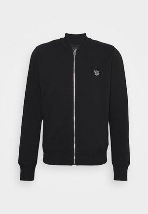 REG FIT ZIP UNISEX - Mikina na zip - black