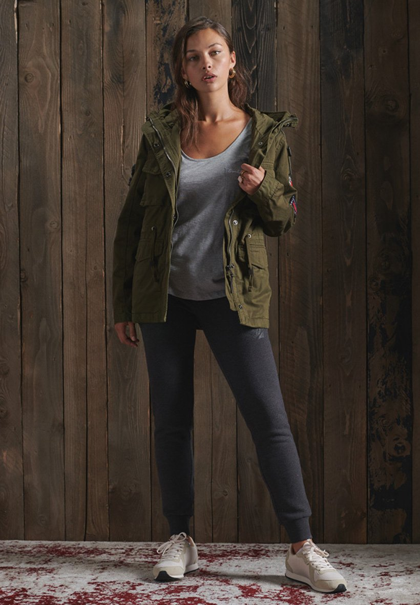 Women BLING RELAXED ROOKIE  - Parka