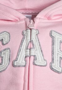 GAP - TODDLER GIRL LOGO - Sudadera con cremallera - old school pink - 3