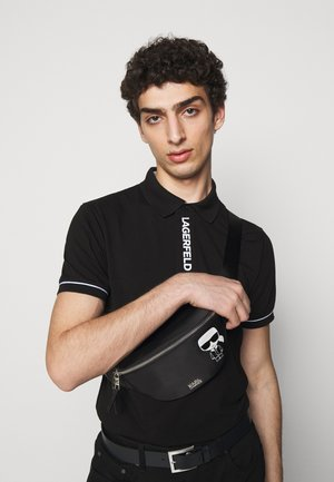 IKONIK BUMBAG UNISEX - Bum bag - black