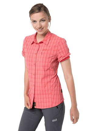 CENTAURA  - Button-down blouse - desert rose checks