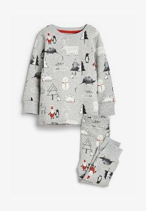 CHRISTMAS DINOSAUR - Pyjamas - grey