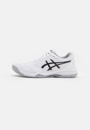 GEL-DEDICATE 7 - Tenisové boty na všechny povrchy - white/black