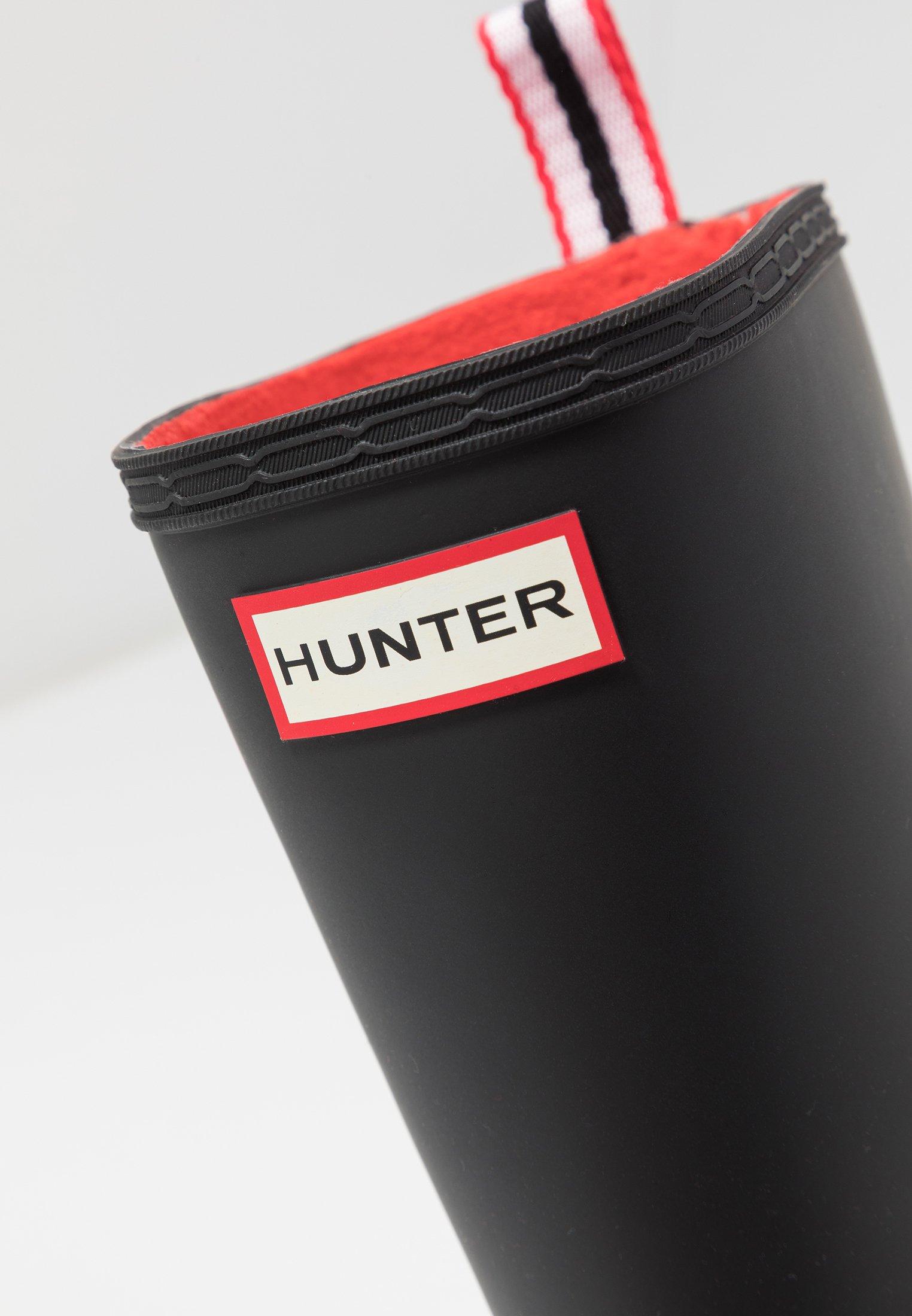 Hunter Original Insulated Play Tall - Gummistøvler Black/svart