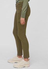 Marc O'Polo - LULEA SLIM MID WAIST  - Slim fit jeans - dark green - 4