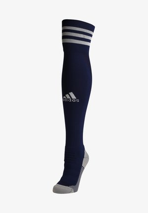 CLIMACOOL TECHFIT FOOTBALL KNEE SOCKS - Knee high socks - dark blue/white