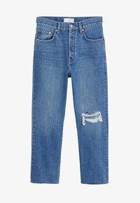 Mango - HAVANA - Straight leg jeans - donkerblauw - 3