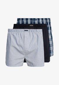 Calvin Klein Underwear - 3 PACK - Boxershorts - blue - 3