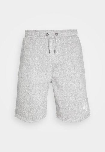 TRISTAN - Pantaloni sportivi - light grey marl/optic white