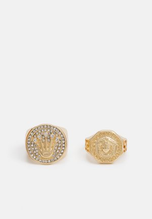 2 PACK - Ring - gold-coloured