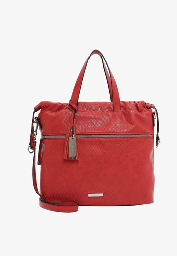 FRANZY - Shopping bag - red