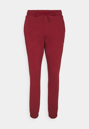 GABBY TROUSER - Tracksuit bottoms - burgudy red
