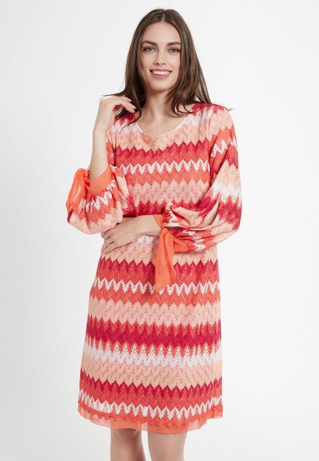 CIMA - Gebreide jurk - rot