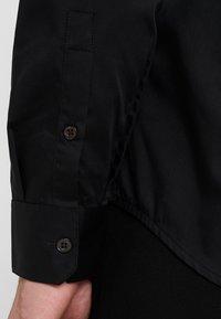 Emporio Armani - CAMICIA SLIM FIT - Camisa elegante - nero - 5