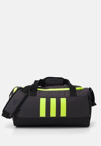 3S DUFFLE S - Sports bag - dgh solid grey/black/solar yellow