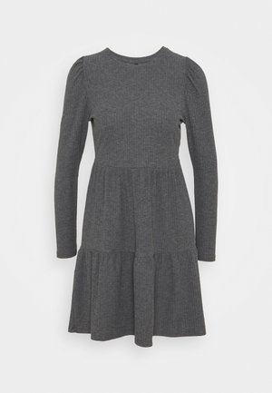 ONLNELLA DRESS - Jumper dress - dark grey melange