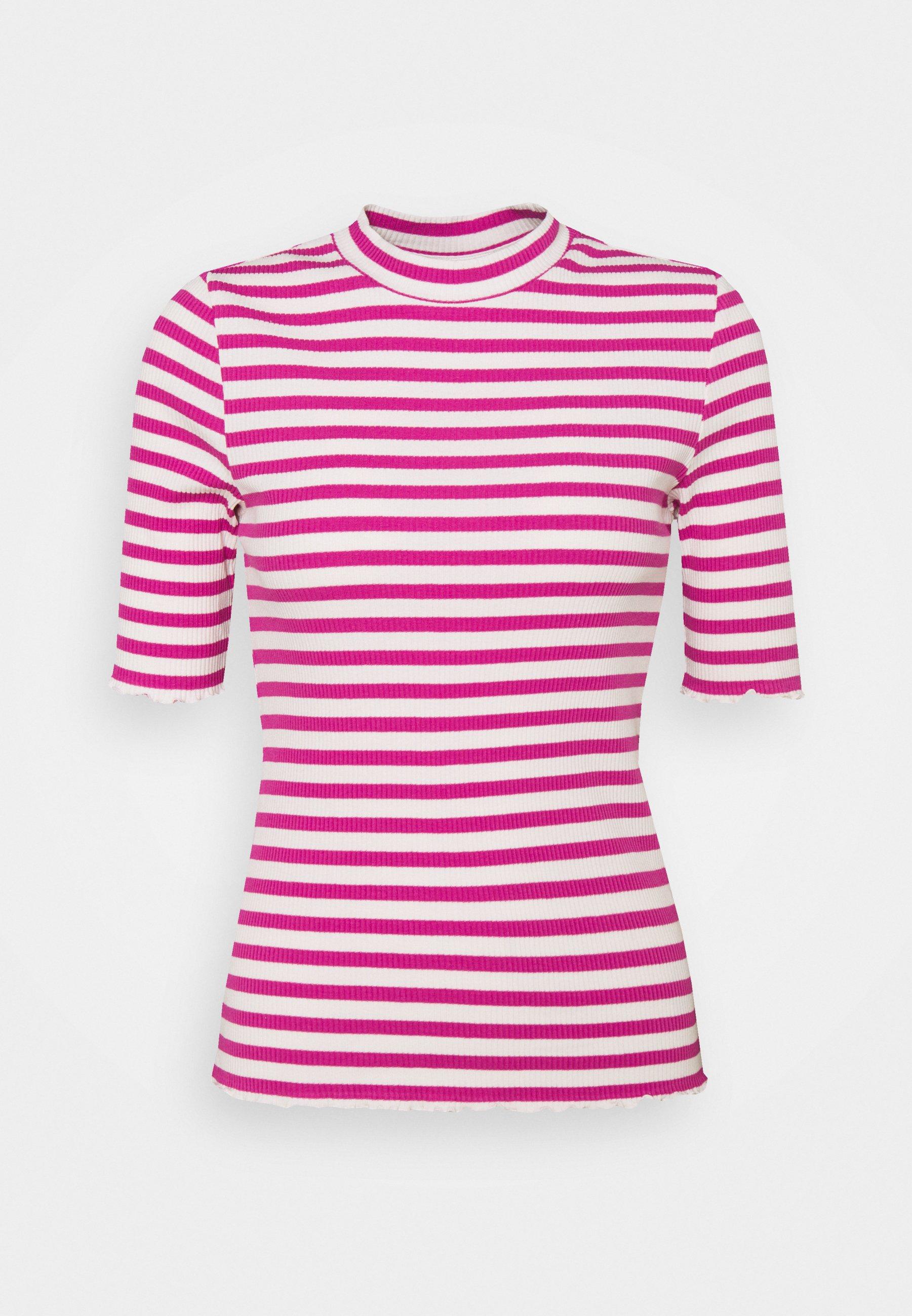 Women SLFANNA CREW NECK TEE  - Print T-shirt