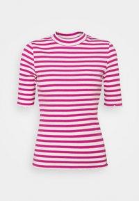 Selected Femme Petite - SLFANNA CREW NECK TEE  - Print T-shirt - rose violet - 0