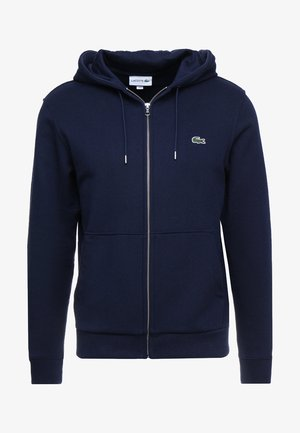 veste en sweat zippée - marine
