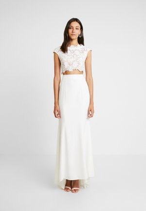 FARAH SET - Maxi skirt - white
