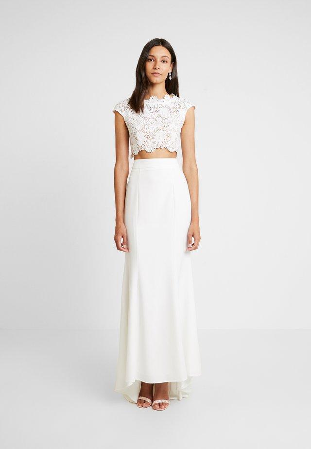 FARAH SET - Jupe longue - white