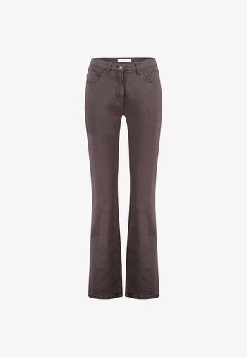 STYLE CAROLA - Straight leg jeans - brown