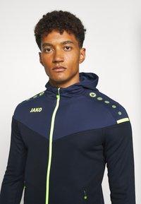 JAKO - CHAMP - Training jacket - marine/blue/neongelb - 3