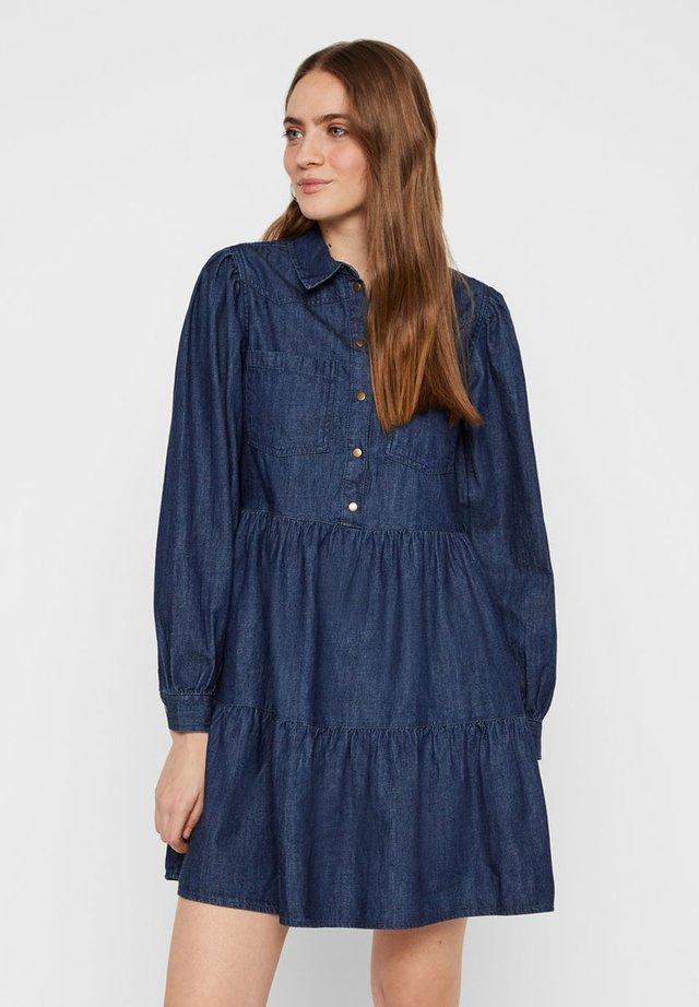 Robe en jean - dark blue denim