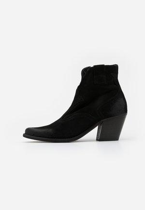 LAREDO - Cowboystøvletter - marvin nero
