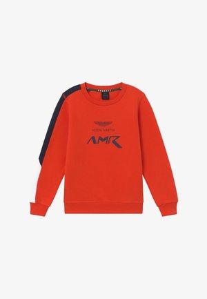 AMR LOGO CREW - Sweatshirt - orange lacquer