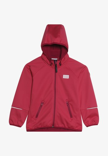 LWSAM 200 - Soft shell jacket - coral red