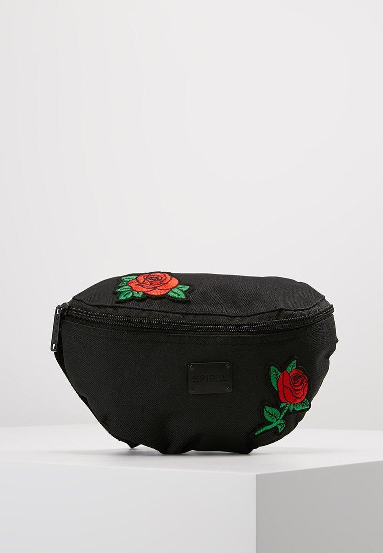 Spiral Bags - HARVARD BUMBAG - Ledvinka - black