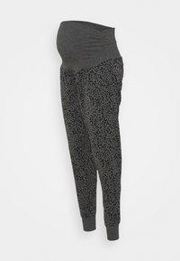 Cotton On Body - DROP CROTCH STUDIO PANT - Tracksuit bottoms - charcoal - 0