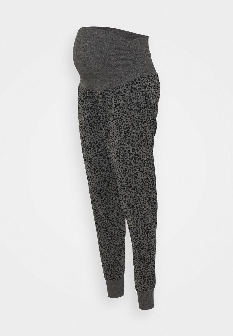 Cotton On Body - DROP CROTCH STUDIO PANT - Tracksuit bottoms - charcoal