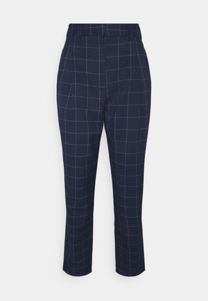 TYRA TROUSERS SCALE - Kalhoty - blue navy