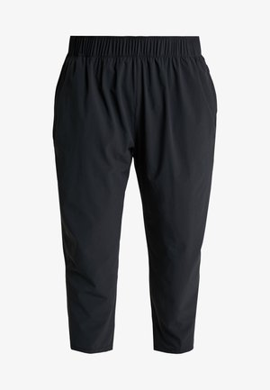 PANT PLUS - Tracksuit bottoms - black/reflective silver