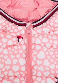 Tommy Hilfiger - BABY PRINTED PUFFER JACKET - Zimní bunda - pink - 2
